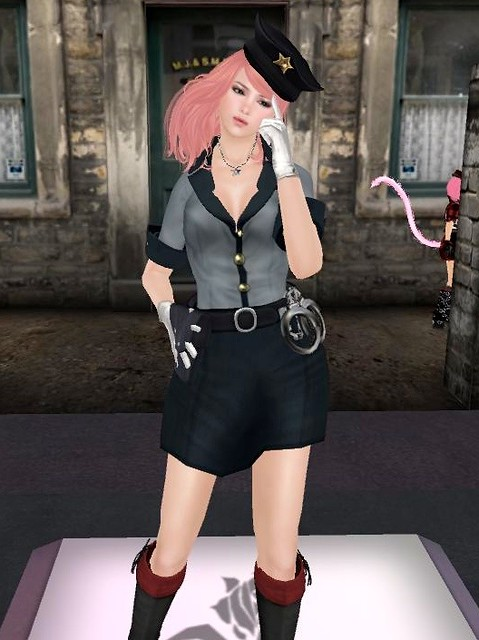 ::: B@R ::: Police Officer Lady