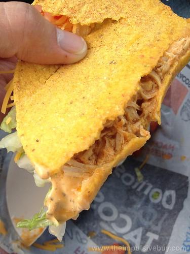 Taco Bell Spicy Chicken Cool Ranch Doritos Locos Taco Shell