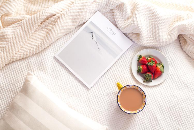 Cereal magazine volume 8 tea and strawberries
