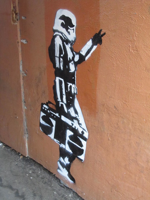Stormtrooper graffiti