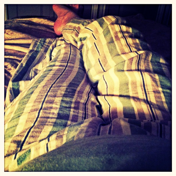 May 23 - pj's {watching the lightening during a thunderstorm in my pj's last night} #PhotoToaster #fmsphotoaday