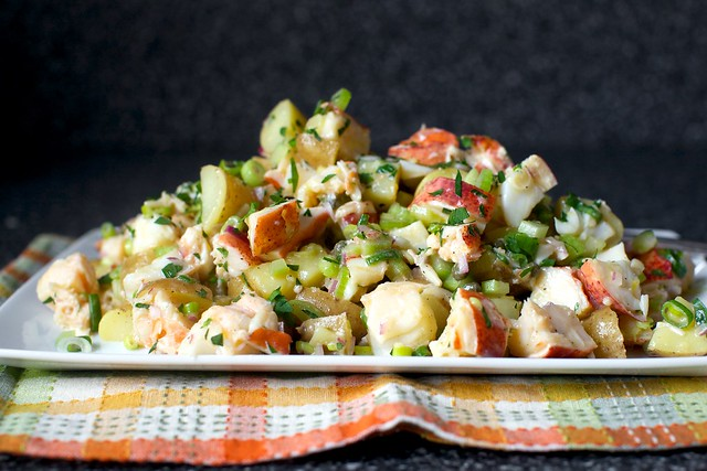 lobster-potato pile, no big deal