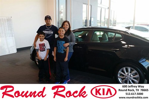 Thank you to Michele Vargas on your new 2014 #Kia #Optima from Roberto Nieto and everyone at Round Rock Kia! by RoundRockKia