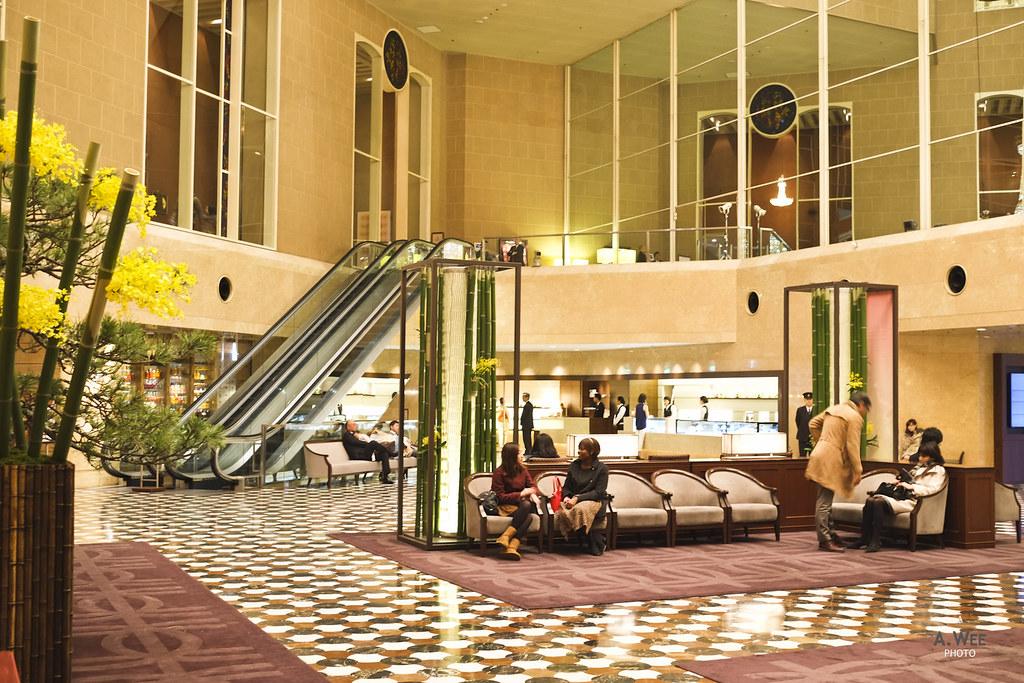Main Lobby of the Hotel