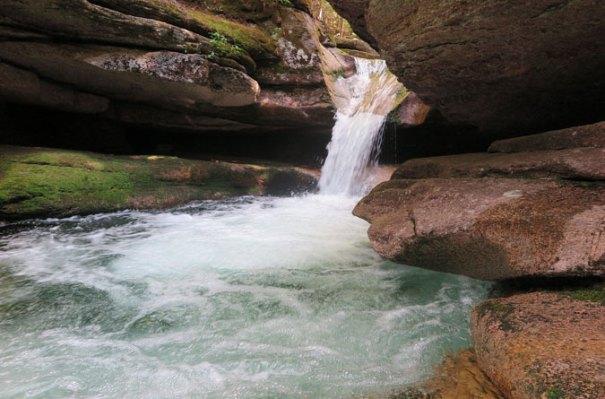 Sabbaday Falls Upper Cascade