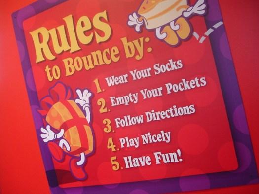 The BounceU rules