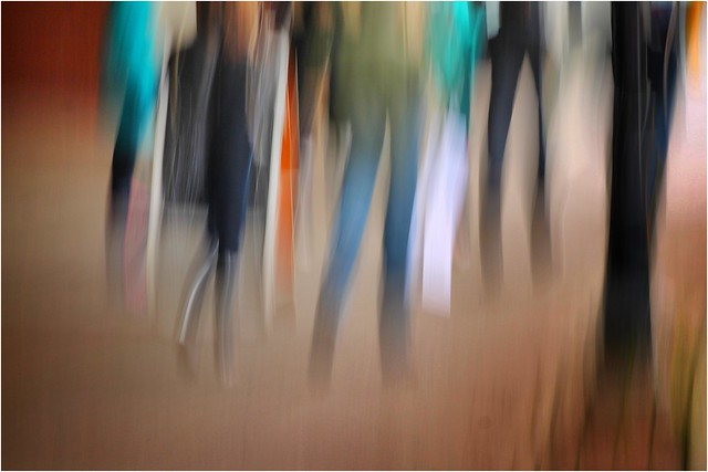 Legs: One afternoon on Water Street. (ICM) by Bob Crutcher