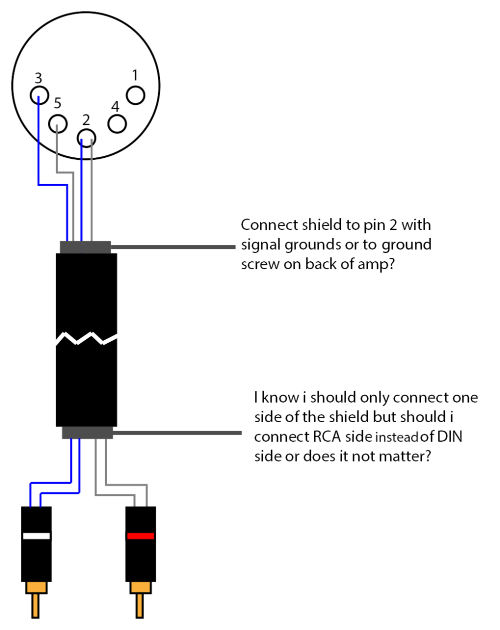 medium resolution of 8 pin din connector wiring diagram get free image about bose 601 bose 901