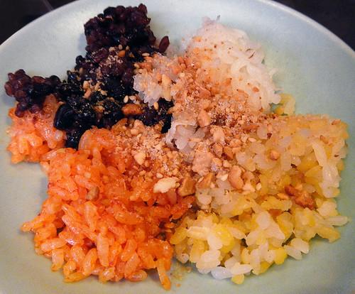 flavoured sticky rice