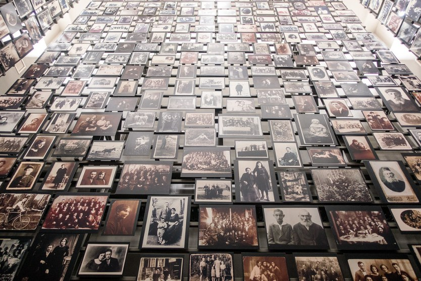 Panel from the Tower of Faces, Permanent Exhibition