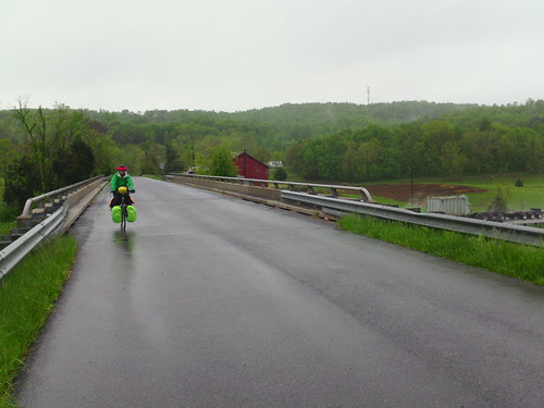 bicycle route 76 rain