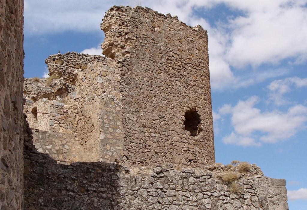 Lienzo de muralla del castillo medieval de Consuegra. Autor, Jebulon