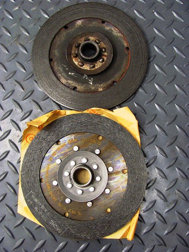 Old (top) & New Clutch Plate