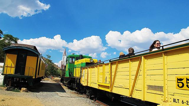 The Virginia Truckee Train