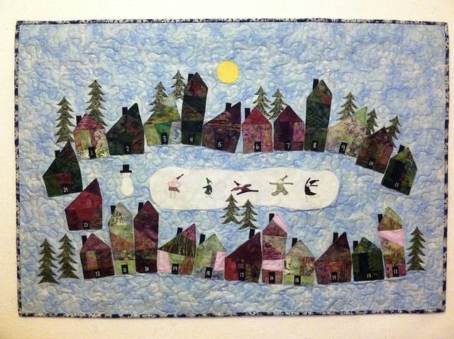 Christmas Advent Calendar Quilt