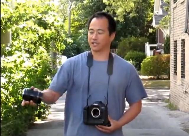 fotografo fail objetivo canon a la basura