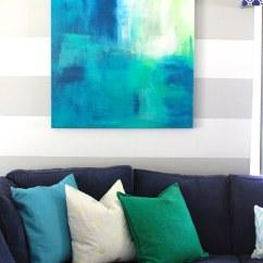 Diy Canvas Art For Living Room Traduzione Ita Frame The Homes I Have Made 002