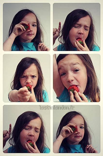 Moulinette aux fraises