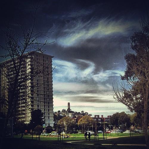 Telegraph Hill #sanfrancisco by @MySoDotCom