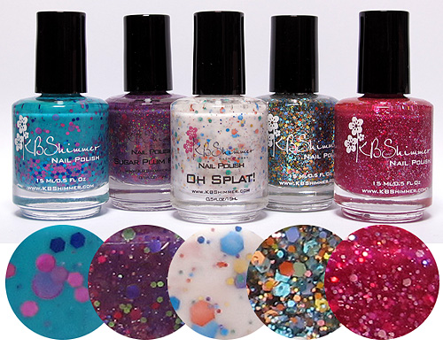 My KBShimmer polishes :)