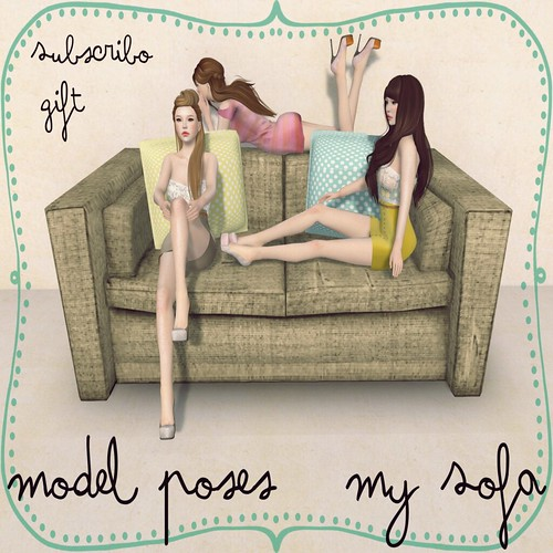 MODEL POSES - FabFree Designer of The Day