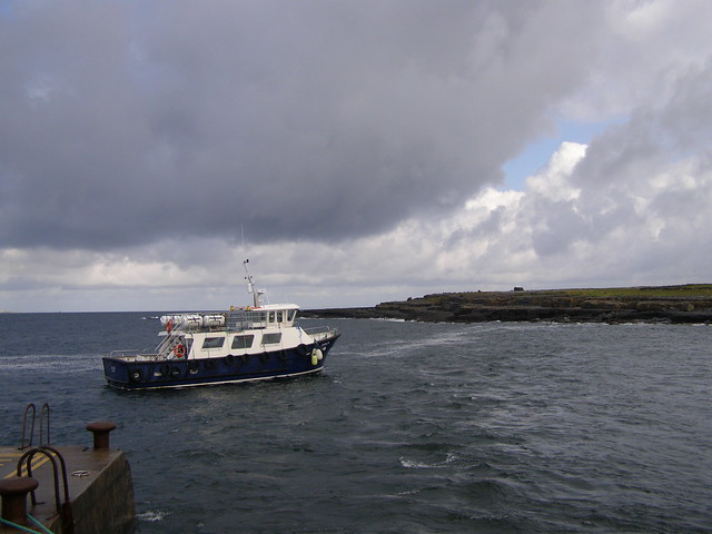 Boat to Inis Oirr, Ireland