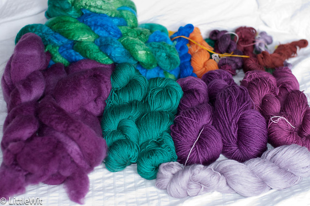 Old Maiden Aunt Dyeing Day