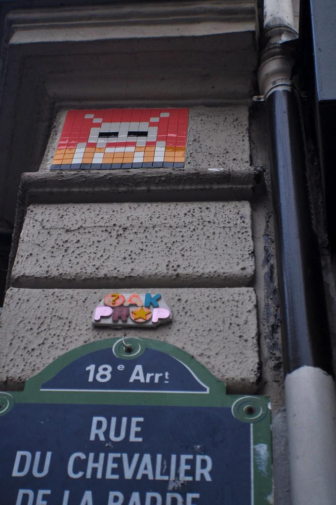 Space Invader OAK PROP