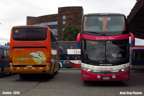 Queilen Bus - Castro (Chile) - Marcopolo Viaggio 1050 + Marcopolo Paradiso 1800 DD G7