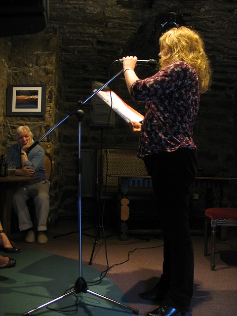 Eveline Pye at Shore Poets June 2013