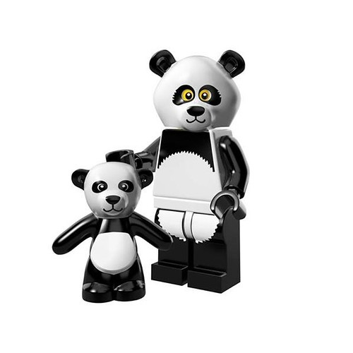 The LEGO Movie Minifigures Panda Guy