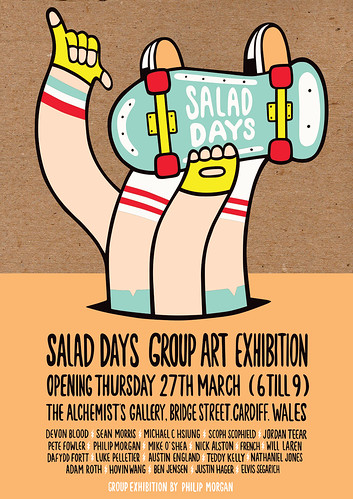 Salad Days Group Art Exhibition.