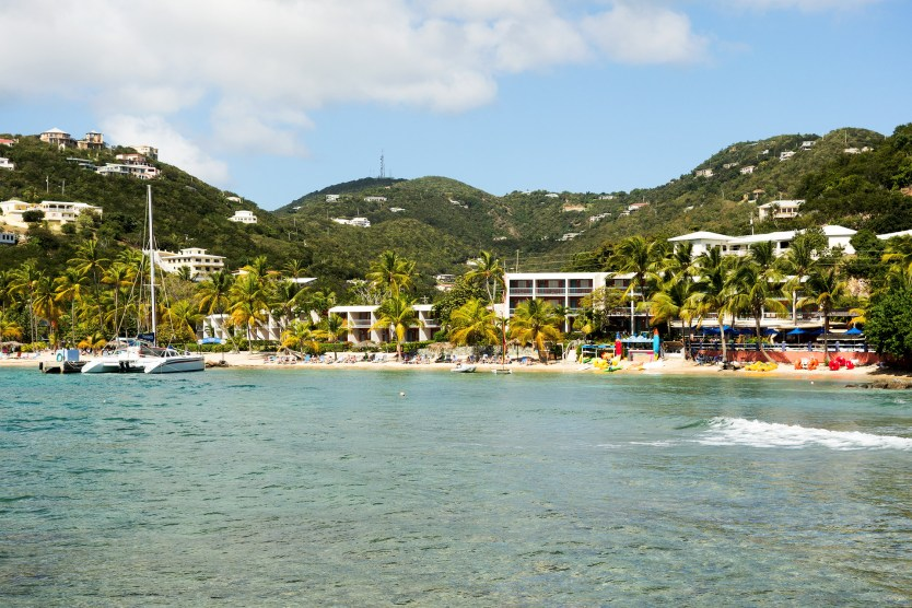 Bolongo Bay Beach Resort, St Thomas.