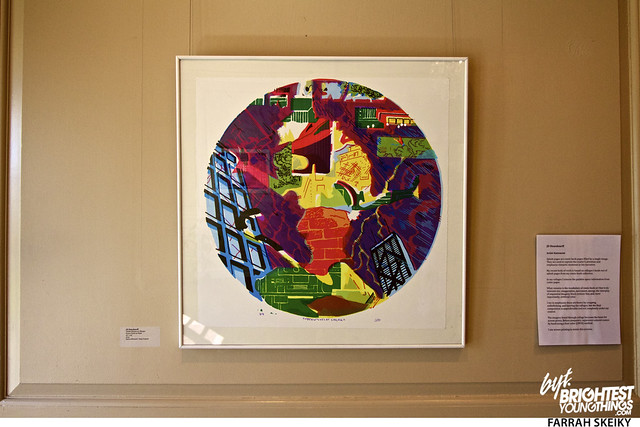The Art of Comic Books Mansion at Strathmore Brightest Young Things Farrah Skeiky 13