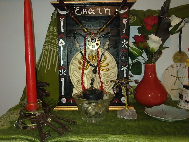 Hekate's shrine