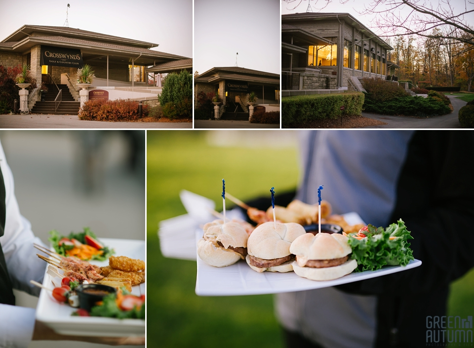 Burlington Crosswinds Golf and Country Club Halloween Wedding