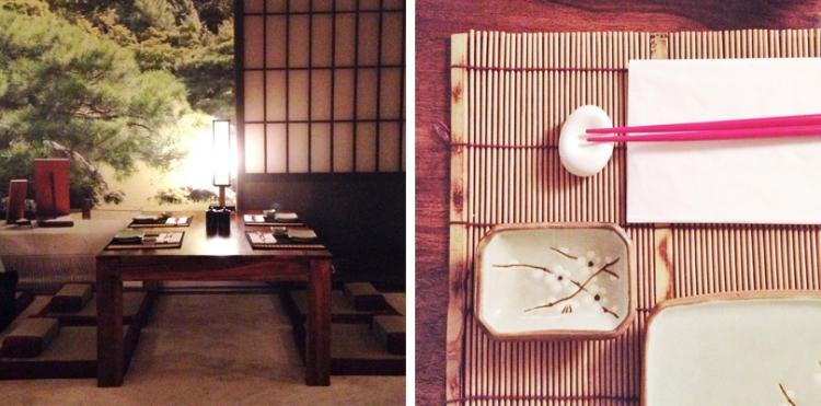 sushi passion interior