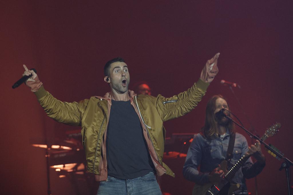 Maroon 5 - Concerto Rock In Rio Lisboa 2016