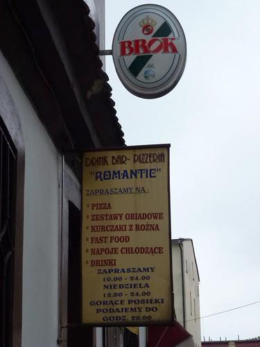 Bar Romantic w Lubawce by Polek