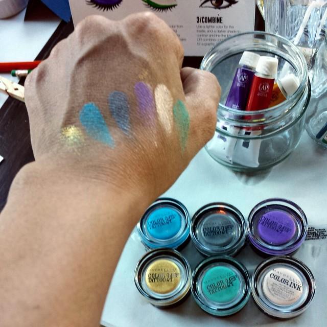Maybelline Eye Studio Color Tattoo 24h eyeshadow