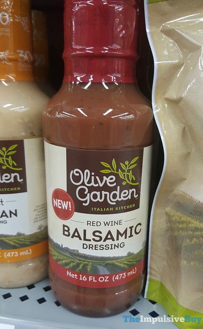 Olive Garden Red Wine Balsamic Dressing
