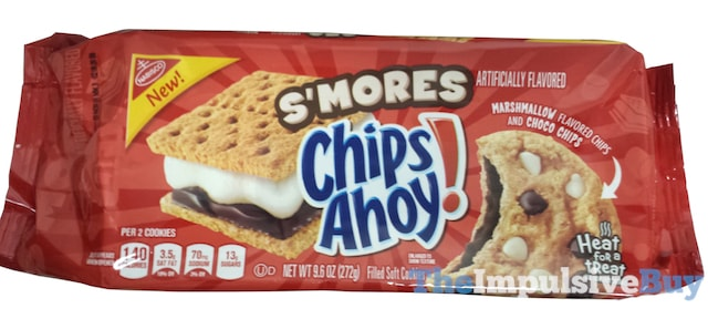 Nabisco S'mores Chips Ahoy Cookies