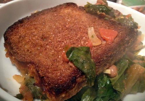 Served Roast Ribollita