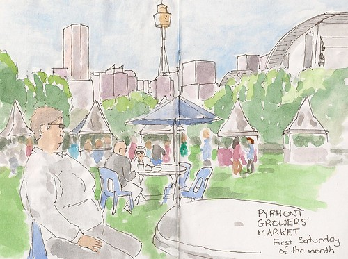 Pyrmont Growers Market by Lionel G King