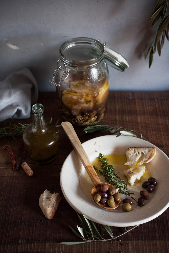como fazer azeitona em conserva