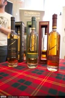 Penderyn, Welsh Whisky op het Whisky Festival Gent, met een heel specifieke smaak
