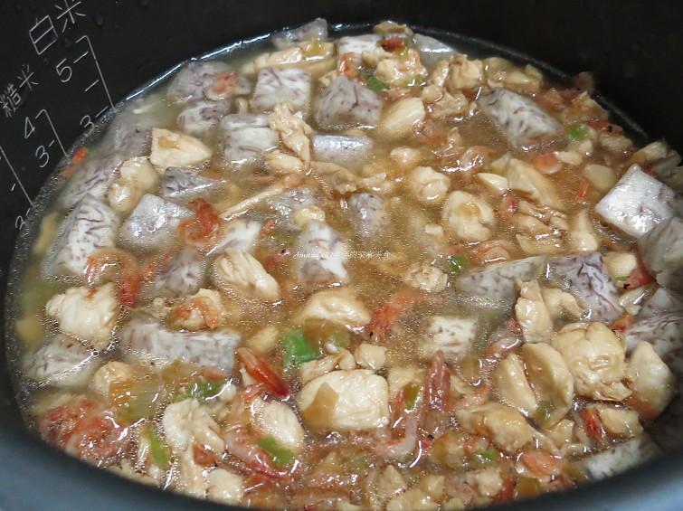 櫻花蝦芋頭飯 (3)