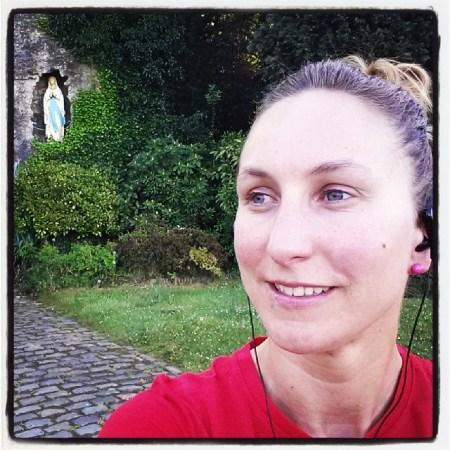 Deed een superloop #wauwmoment #bos #trail #selfie #Maria