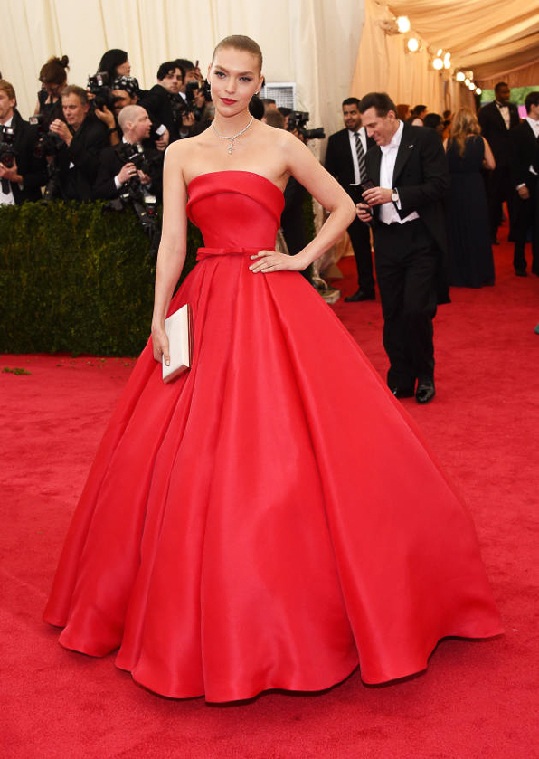 2014 Met Ball Best Dressed Arizona Muse in Ralph & Russo Haute Couture