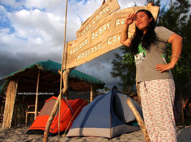 Camping in Nagsasa Cove Zambales